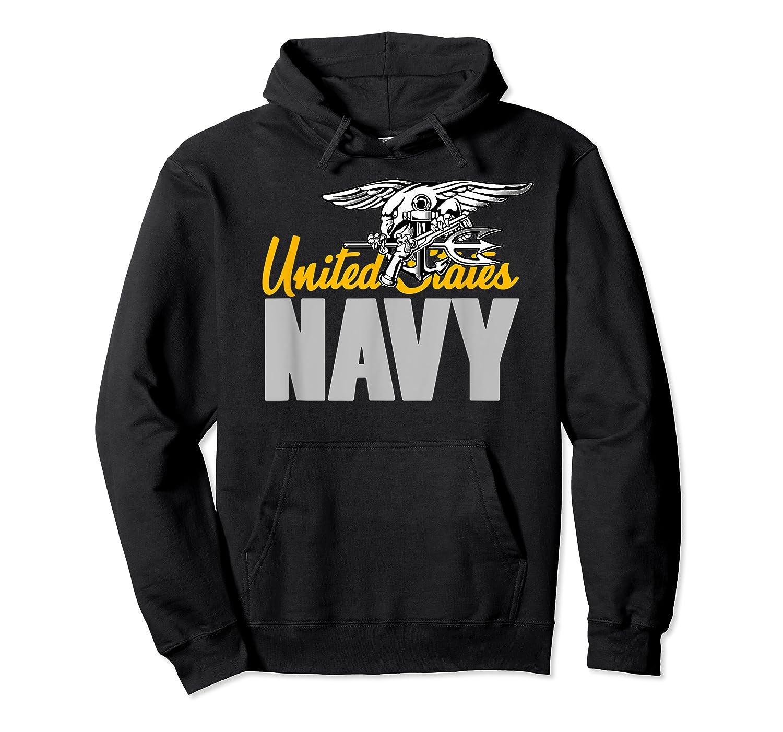 U.s. Navy Seals Team Gift Proud Usn Seal T-shirt Unisex Pullover Hoodie
