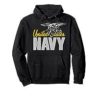U.s. Navy Seals Team Gift Proud Usn Seal T-shirt Hoodie Black