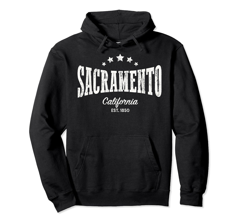 Vintage Sacrato Shirt Ca Home City Pride Distressed Unisex Pullover Hoodie