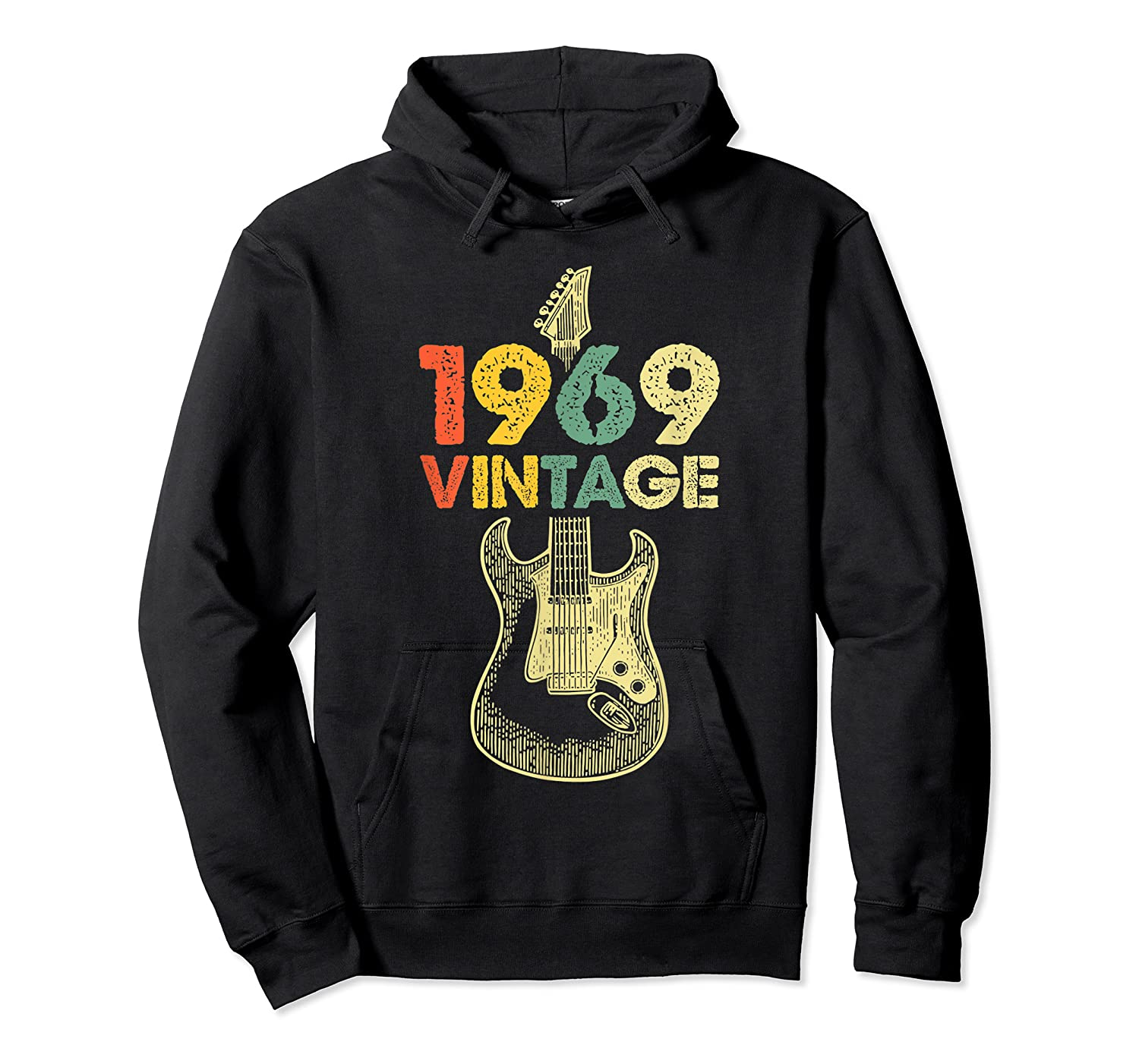 Vintage 1969 50th Birthday For Guitar Lover Tshirt T-shirt Unisex Pullover Hoodie