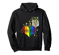 Love Wins Lgbtq Color Heart Pride Month Rally Shirt Tank Top Hoodie Black