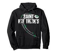 St Patricks Day Hockey T Shirt Saint Hat Trick S Day Funny Hoodie Black