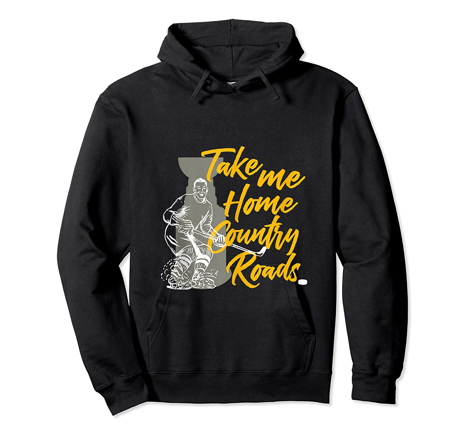 Roads To Hockey Country Fan Take Me Home Top Gift Tank Top Shirts Unisex Pullover Hoodie