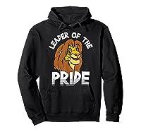 Lion King Adult Simba Leader Of Pride Graphic Shirts Hoodie Black