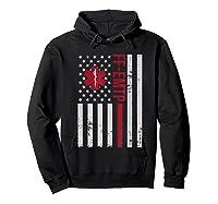 Ff Emtp Firefighter Paramedic Usa Flag Shirts Hoodie Black