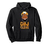 Football Obj Cleveland Shirts Hoodie Black