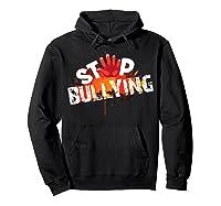 Stop Bullying Cute Unique Anti Bullying Gift Shirts Hoodie Black