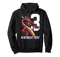 Mulan 3rd Birthday Boy Mushu Portrait Shirts Hoodie Black