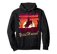 Rodeo 2019 T Shirt Houston Rodeo Cowboy Yiiihaaa Hoodie Black