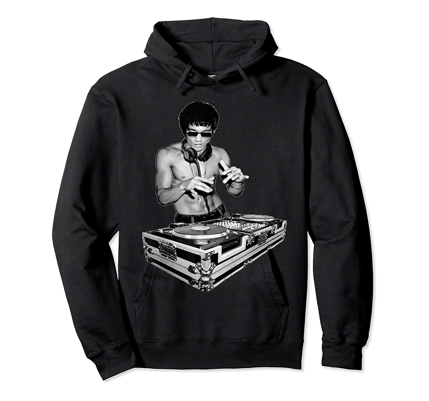 Bruce Dj By Bruce Shirts Unisex Pullover Hoodie