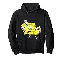 Spongebob Meme Isn't Even Funny Shirts Hoodie Black
