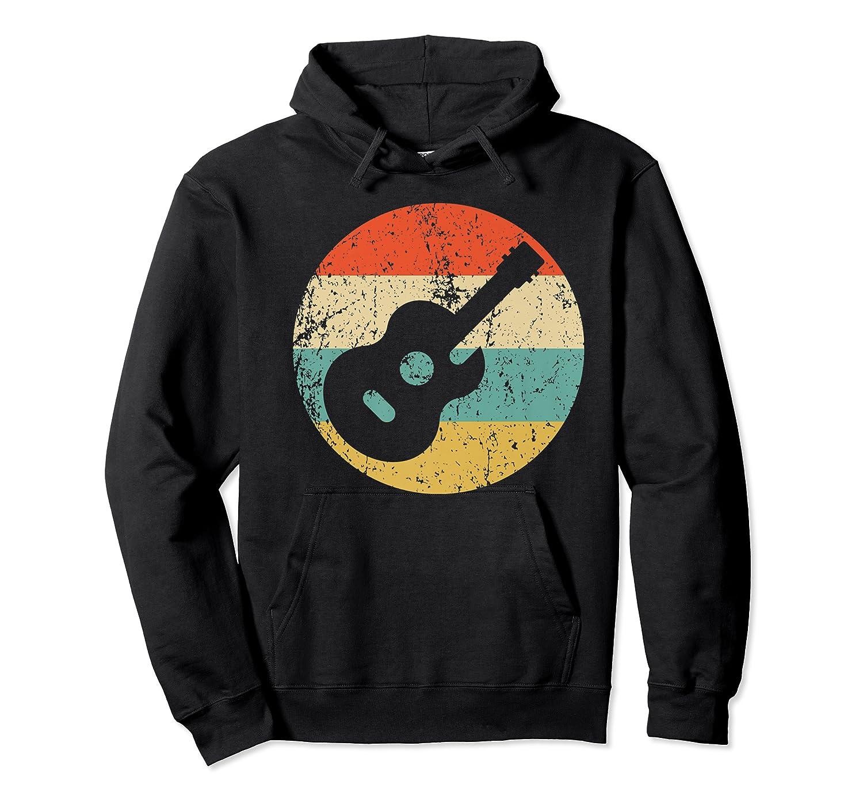 Guitaris Retro Acoustic Guitar Shirts Unisex Pullover Hoodie