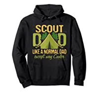 Scout Dad Cub Leader Boy Camping Scouting Gift Shirts Hoodie Black
