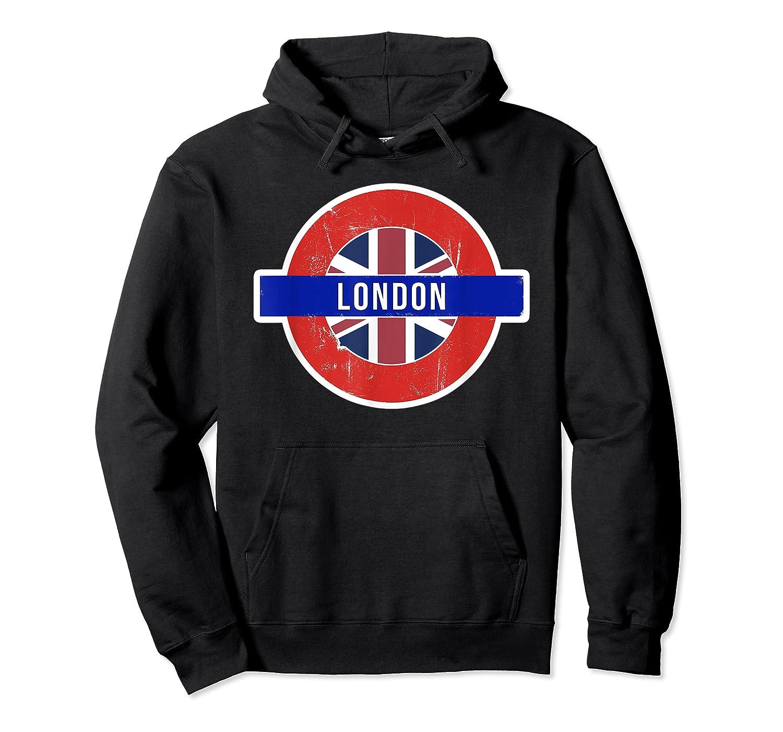 London Uk T Shirt Fun English British City Travel Gift Unisex Pullover Hoodie