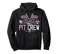 Racing Car Sister Racer Sister Pit Crew Gift Shirts Hoodie Black