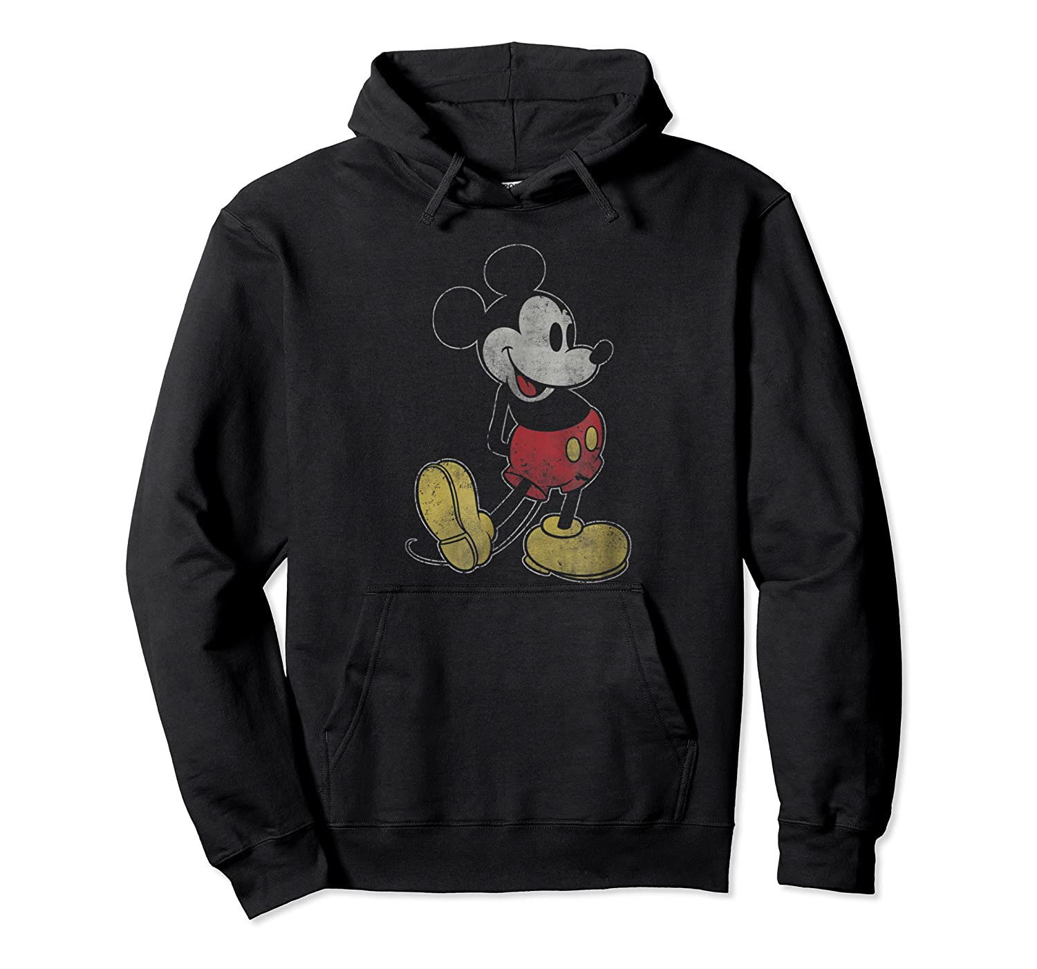 Disney Mickey Mouse Outline T Shirt Unisex Pullover Hoodie