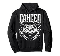 Cancer Hearth Kitchen Witch Shirt Skull Constellation Hoodie Black