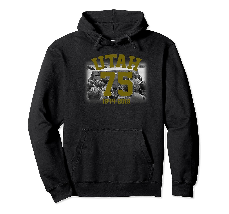 Wwii D-day 75th Anniversary Utah Beach Premium T-shirt Unisex Pullover Hoodie