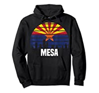 Mesa Arizona T Shirt Az Group City Silhouette Flag Tee Gift Hoodie Black
