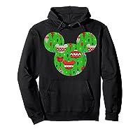 Disney Mickey Christmas Ornats T Shirt Hoodie Black