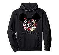 Disney Happy Holidays Group T Shirt Hoodie Black