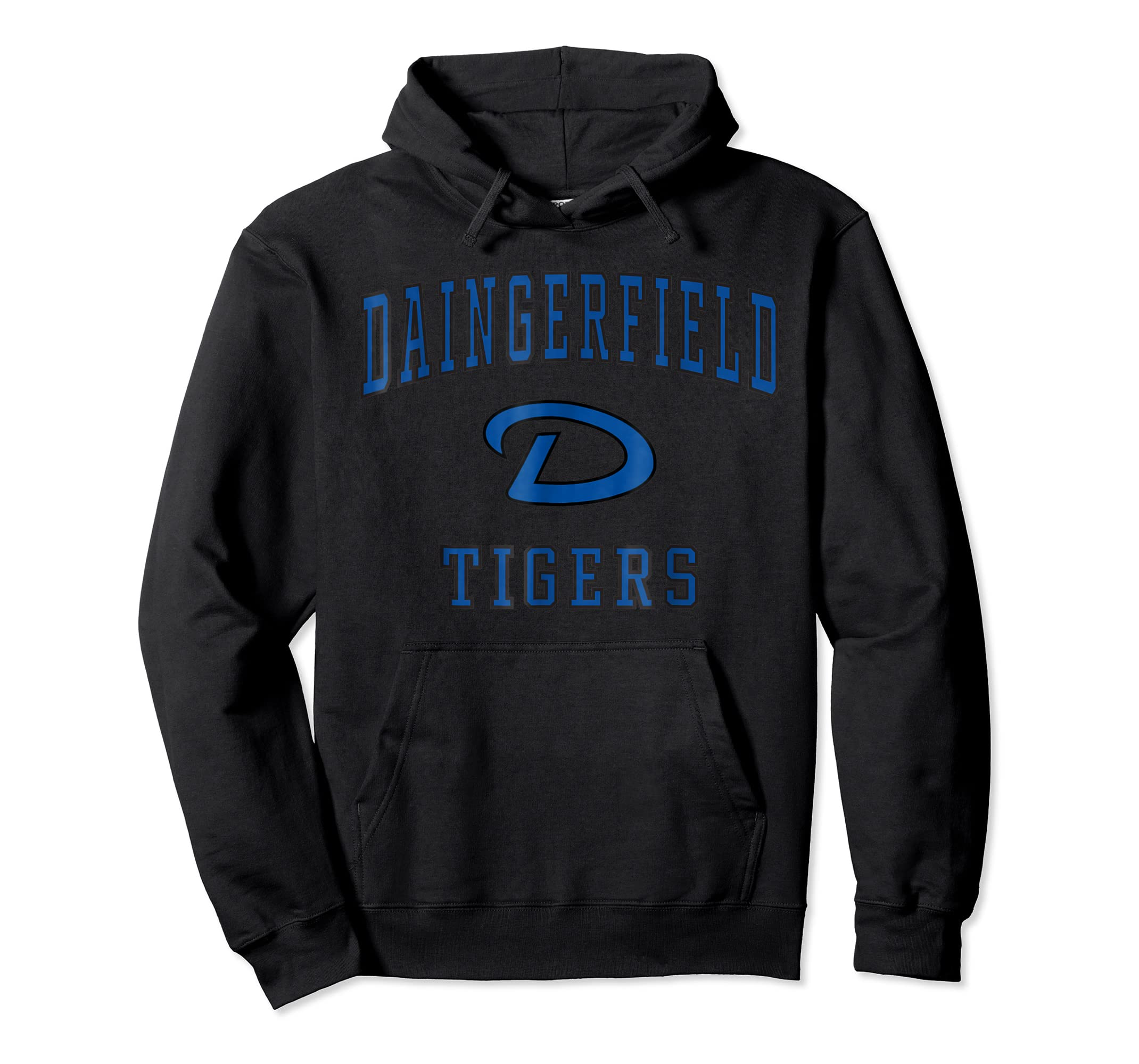 Daingerfield High School Tigers T-Shirt C1-Hoodie-Black