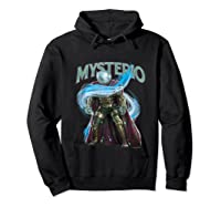 Spider Man Far From Home Mysterio Stance Shirts Hoodie Black
