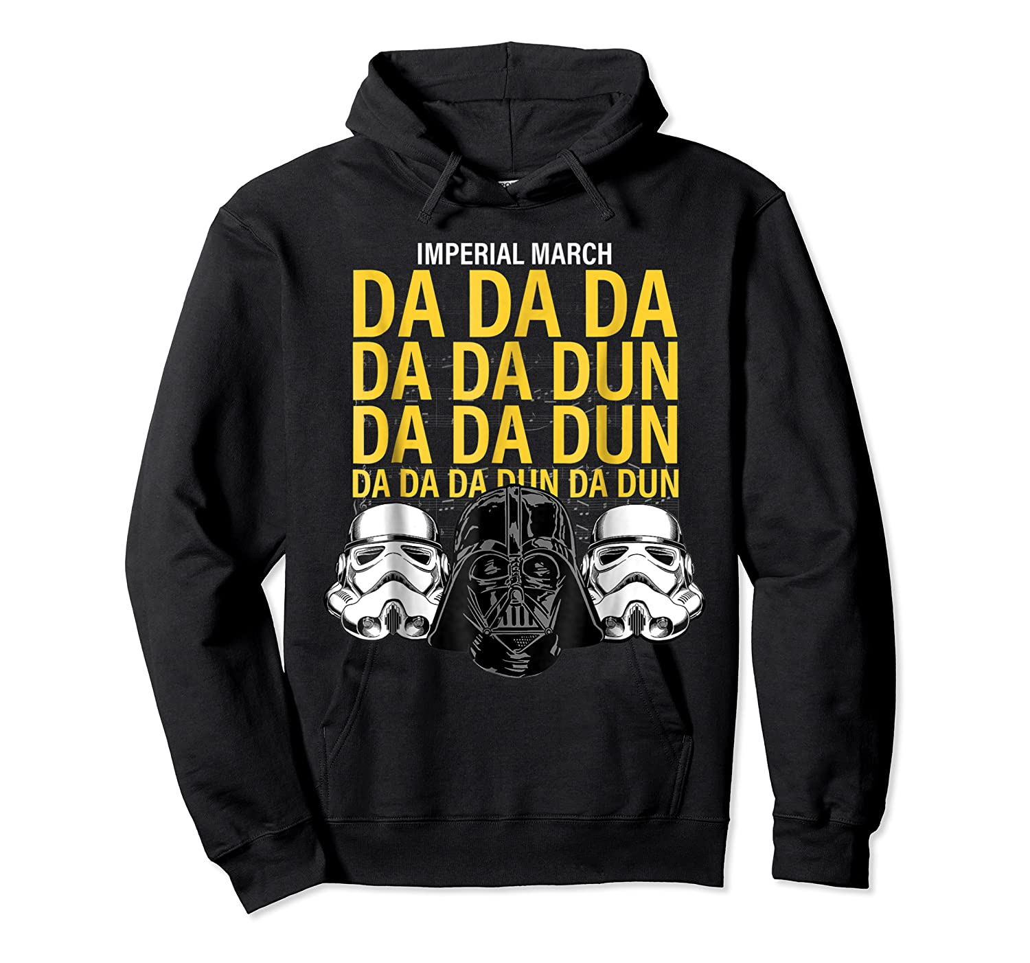 S Darth Vader Imperial March Graphic Shirts Unisex Pullover Hoodie
