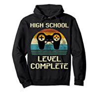 2019 High School Graduation Shirt Gamer Graduation Gifts-min Hoodie Black