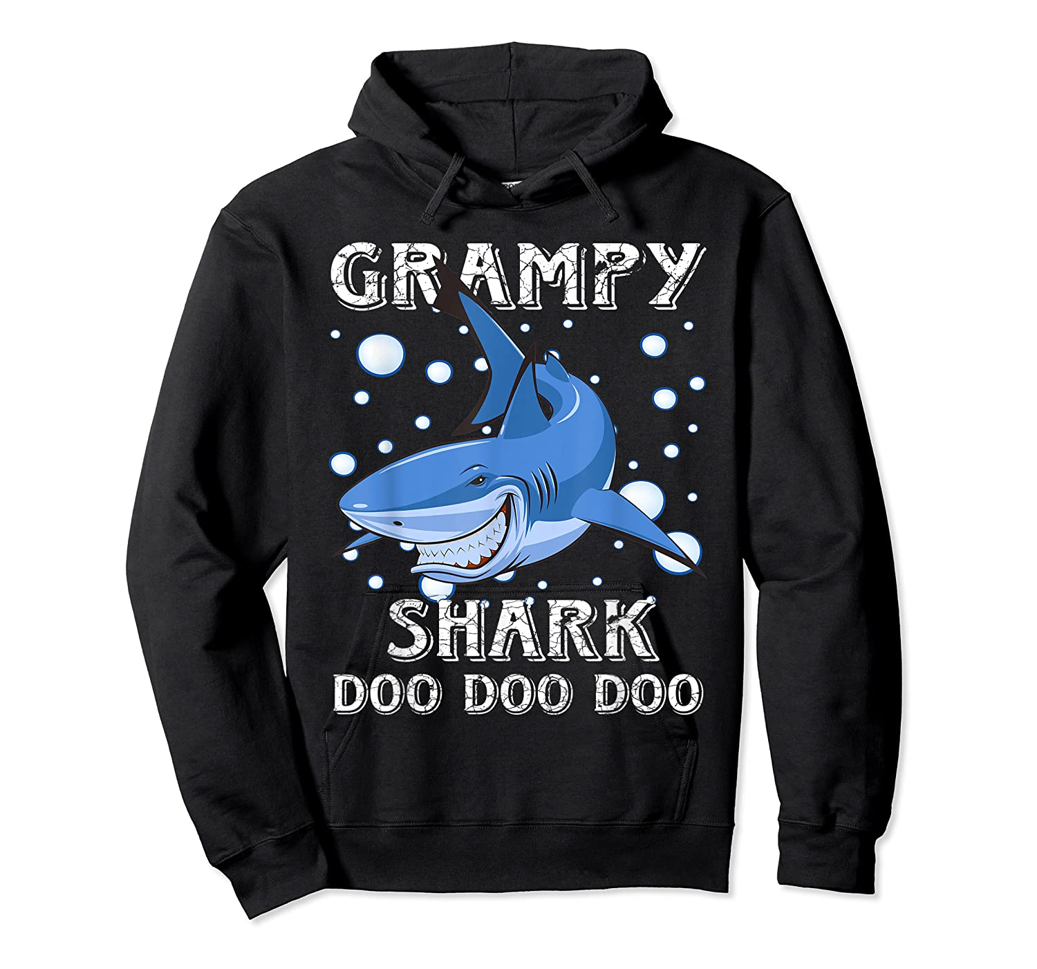Grampy Shark Shirt Fathers Day Gift T-shirt Unisex Pullover Hoodie