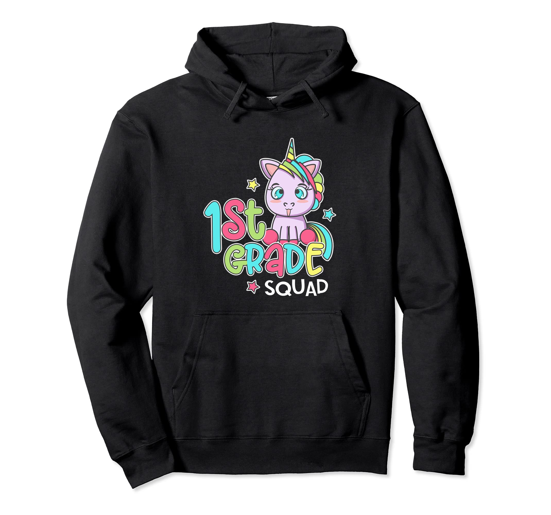 1st Grade Back To School Unicorn Hoodie 1st Day At School