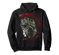 Roman Skull Praetorian Warrior Shirts Hoodie Black