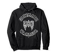 Ultimate Warrior Mask 1 Color Shirts Hoodie Black