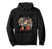 Disney Comic Crew T Shirt Hoodie Black