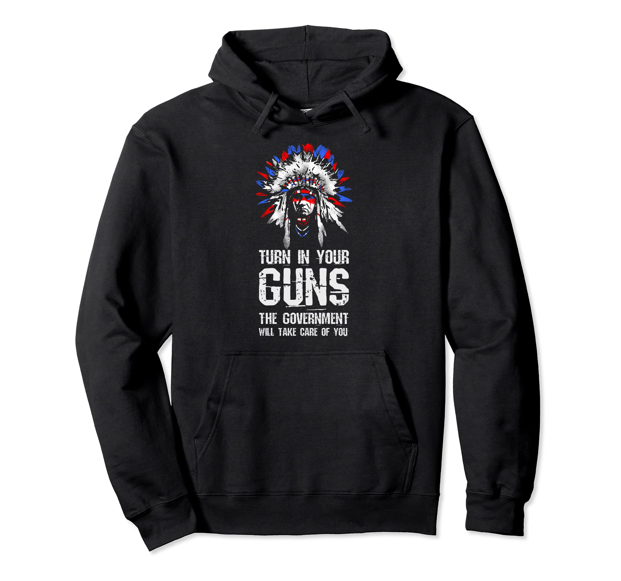 Gun Rights Hoodie Turn In Your Guns Funny Political Gift