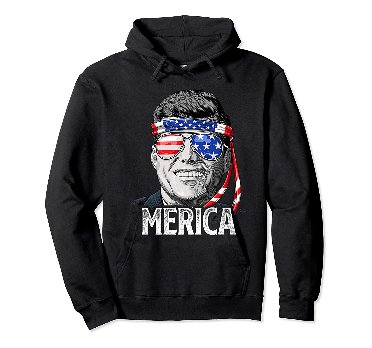 Kennedy Merica 4th Of July President Jfk Gifts Shirts Unisex Pullover Hoodie