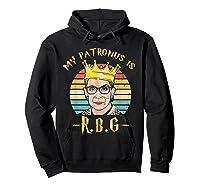 My Patronus Is Ruth Bader Ginsburg Shirt Notorious Rbg Gift Hoodie Black