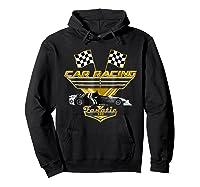 Car Racing Fanatic 500 Miles T Shirt Golden Edition Hoodie Black