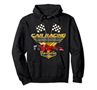 Car Racing Fanatic 500 Miles T Shirt Red Car Edition Hoodie Black