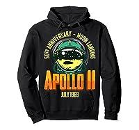 Apollo 11 50th Anniversary Shirts Hoodie Black