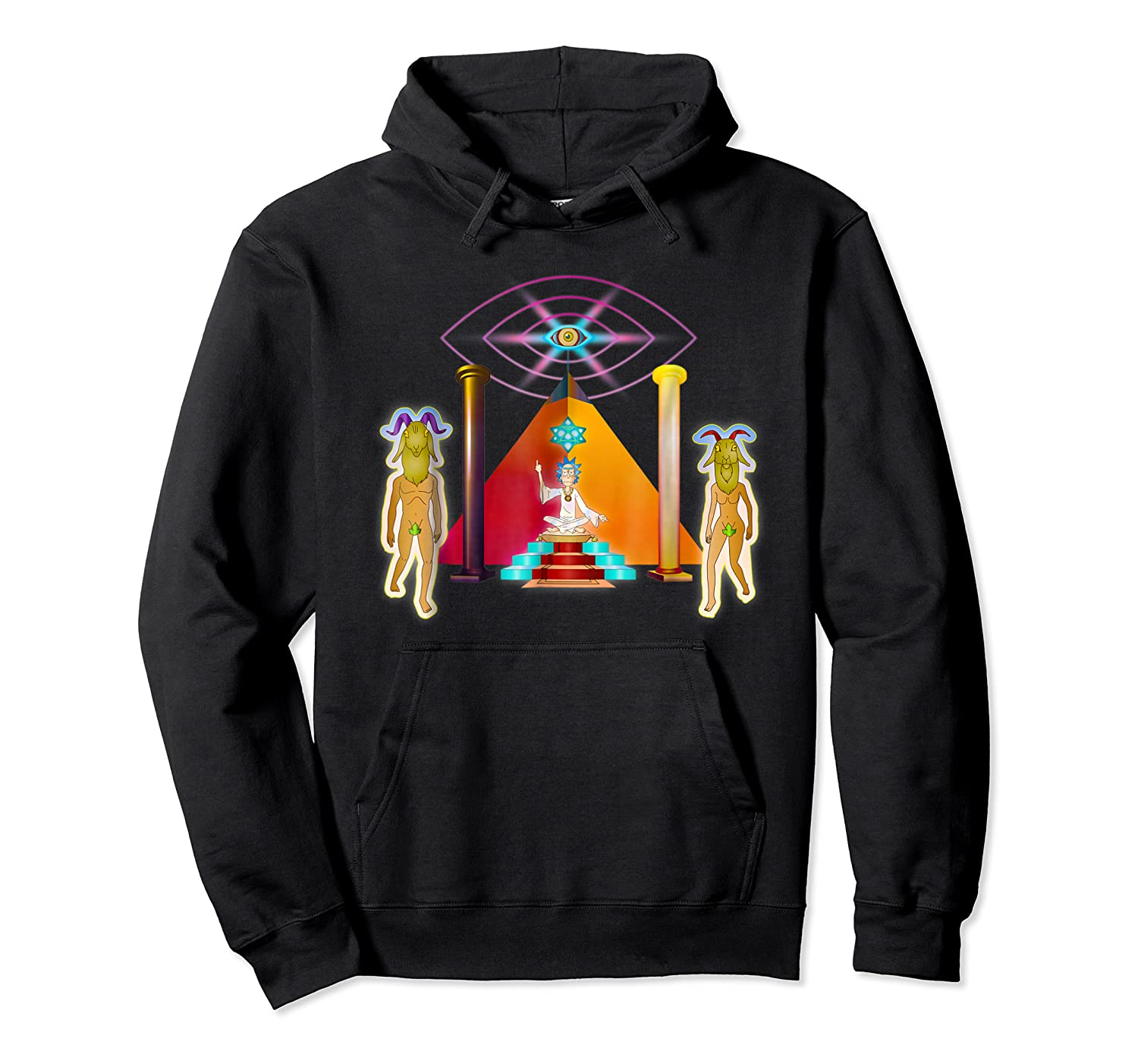 Rick And Morty Holy Rick Shirts Unisex Pullover Hoodie