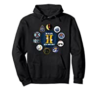 Project Gemini Missions Patch Badge Nasa Shirts Hoodie Black