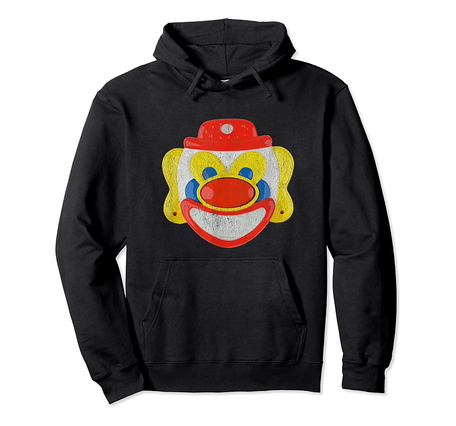 Scary Clown T-shirt Unisex Pullover Hoodie
