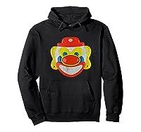 Scary Clown T-shirt Hoodie Black