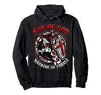 Knights Templar Tshirt Son Of God Warrior Of Christ Hoodie Black