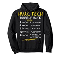 Tech Hourly Rate Chalk Style Best Gift Shirts Hoodie Black