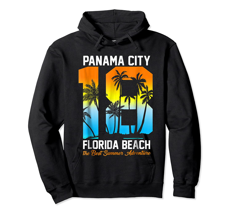 Pa City Beach 2018 Florida T Shirt Beach Lovers Gift Unisex Pullover Hoodie