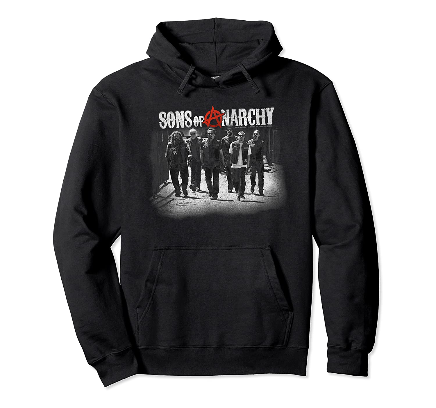 Sons Of Anarchy Rolling Deep T Shirt Unisex Pullover Hoodie