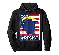 Resist Protest Rebel Political Anti Trump Impeach T Shirt Hoodie Black