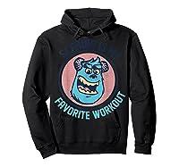Pixar Monsters University Sulley Face Shirts Hoodie Black